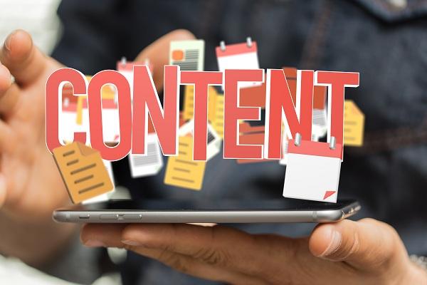 Rédaction de contenu